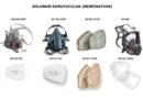 3M ™ Yeniden Kullanılabilir Yarım ve Tam Yüz Maskeleri İçin Rehberler