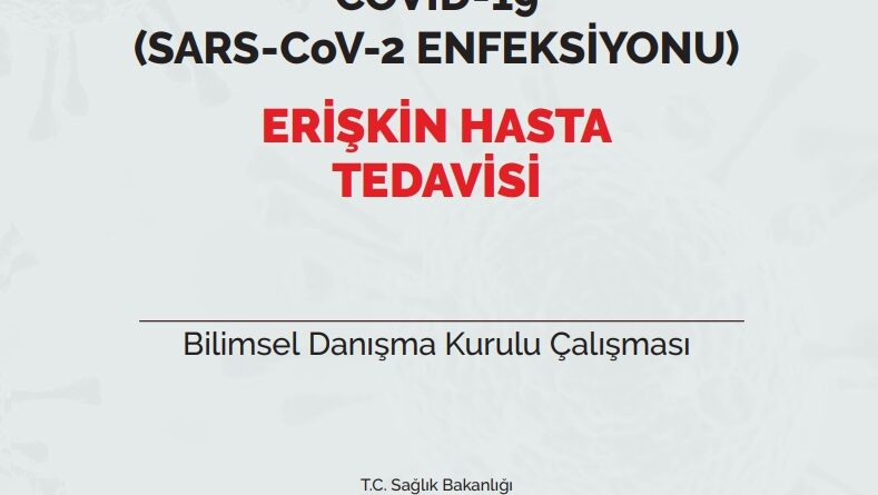 COVID-19 (SARS-CoV-2 ENFEKSİYONU) ERİŞKİN HASTA TEDAVİSİ 02.08.2020