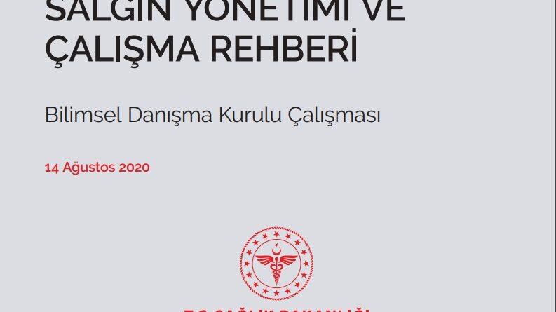 COVID-19 SALGIN YÖNETİMİ VE ÇALIŞMA REHBERİ 14.08.20