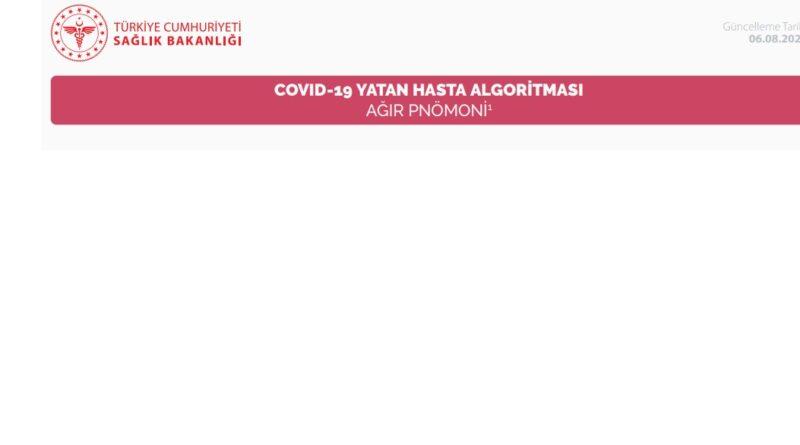 COVID-19 YATAN HASTA ALGORİTMASI AĞIR PNÖMONİ 06.08.20