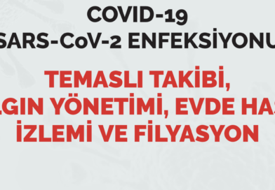 COVID-19 (SARS-CoV-2 ENFEKSİYONU) TEMASLI TAKİBİ, SALGIN YÖNETİMİ, EVDE HASTA İZLEMİ VE FİLYASYON 05.09.20