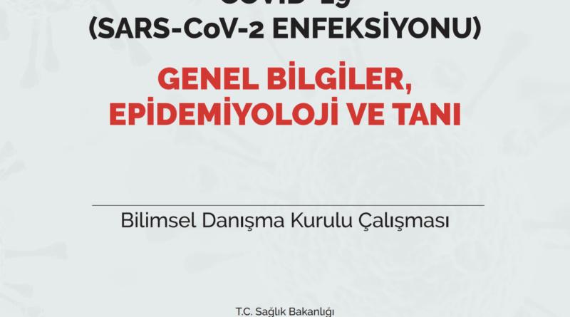 COVID-19 (SARS-CoV-2 ENFEKSİYONU) GENEL BİLGİLER, EPİDEMİYOLOJİ VE TANI 07.12.2020
